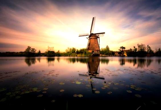 Ανεμόμυλοι : 3 μέρη της Ολλανδίας για να τους δεις